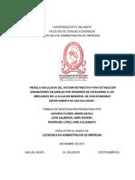 Sistema Retributivo Para Establecer Incrmentos Salariales Cusca 2014 Escalafon