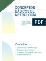 Conceptos de Metrologia
