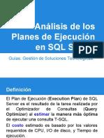 Análisis de Los Planes de Ejecución en SQL Server