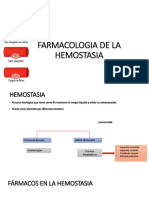 Farmacologia de La Hemostasia