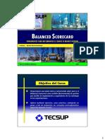 Balanced Scorecard - Unidad I, II y III