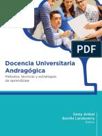 Docencia Universitaria Andragógica
