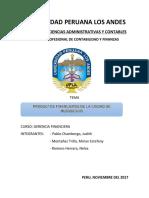 Universidad Peruana Los Andes Gerencia