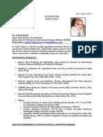 CV-Dr Ashok Gulati