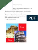 El Mundo Clásico Grecia y Roma Grecia