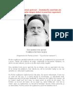 Ţine Candela Inimii Aprinsă - Învățăturile Părintelui Serghie Despre Duhul si Practica Rugăciunii