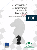 14 Congreso Internacional de Medicina y Cirugia Equina SICAB13_0
