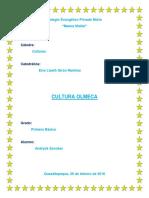 Cultura Olmeca Trabajo Completo