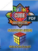 Rubik's Cube 3x3 Solution Guide