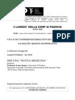 2018 Programma Conferenze Simp