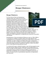 Bosque-Monteseco