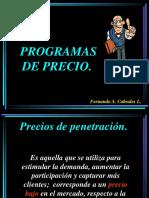 Programas de Precio