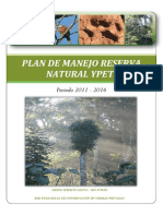Plan de Manejo Reserva Natural Privada Ypeti