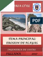 Erosion de Playas