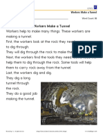 workers make a tunnel lvl f passage