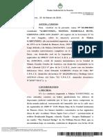 Causa de Matías Garfunkel por contrabando