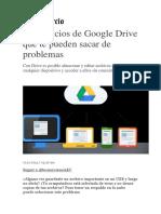 5 Beneficios de Google Drive Que Te Pueden Sacar de Problemas