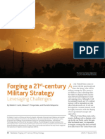 20140101 JFQ 72 - Forging a 21st Century Military Strategy - Leveraging Challenges