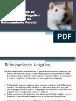Ejemplos Reforzamiento Negativo Reforzamiento Parcial