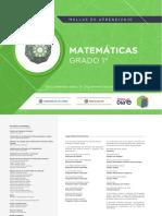 Matemáticas Grado 1