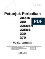 DEMO Hitachi-zaxis 200-3 Panduan Perbaikan. (1)-2-32