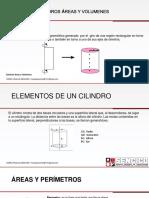 Cilindro Areas y Volumen Pajilla