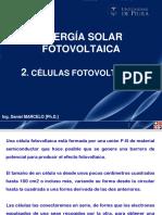 2. Células fotovoltaicas
