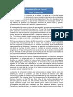 CASO de ESTUDIO Sucumbira La TV Ante Internet