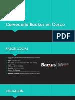Cerveceria Backus en Cusco