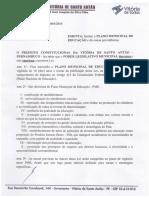 Plano Municipal de educação 2015 Vitória de Santo Antão