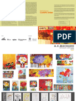 Folder Exposição Carpe Diem do artista A.CMachado 2015