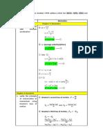 List of Physics Derivation STPM Term 1