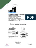Bruit en électronique et détection synchrone