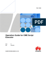 [Common] Operation Guide for CME Script Executor