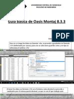 Guia Basica Oasis Montaj 8.3.3