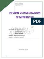Trabajo-practico Investigacion de Marcados