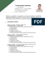Curriculum Anthonyjosue - Actualizado