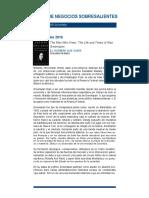 Libros de Negocios Sobresalientes 2006-2016