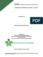Importancia de La Funciones de Organización, Control y El Staff_Duarte_Duarte