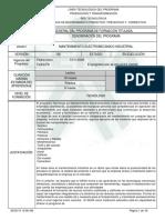 1 Programa de Formación Electromecanica