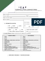 Pauta de evaluación ICAP