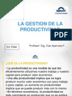 Clase Productividad