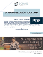 LA REORGANIZACIÓN SOCIETARIA - Para APECC.ppt