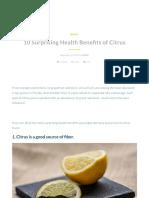 10 surprising health benefits of citrus - impac