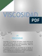 La Viscosidad,PPTX