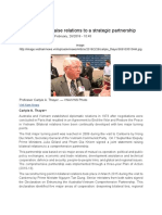 Thayer Australia-Vietnam to Raise Relations to a Strategic Partnership