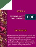 Week 8 Ekonomi Pembangunan