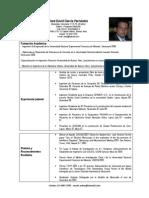 CV Ing. Jose D. García F. Argentina act.