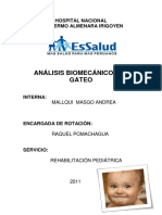Análisis Biomecánico Del Gateo