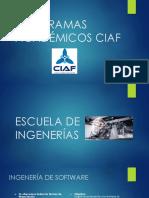 PROGRAMAS ACADÉMICOS CIAF